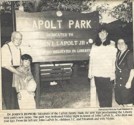 9.20.1994.LaPolt.Park.Dedication